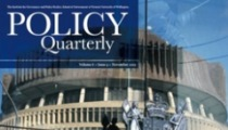 Cover of Policy Quarterly journal