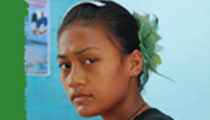 young Pacific girl