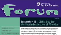 Cover of September 2012 Forum