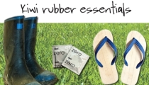 Kiwi Rubber Essentials campaign photo