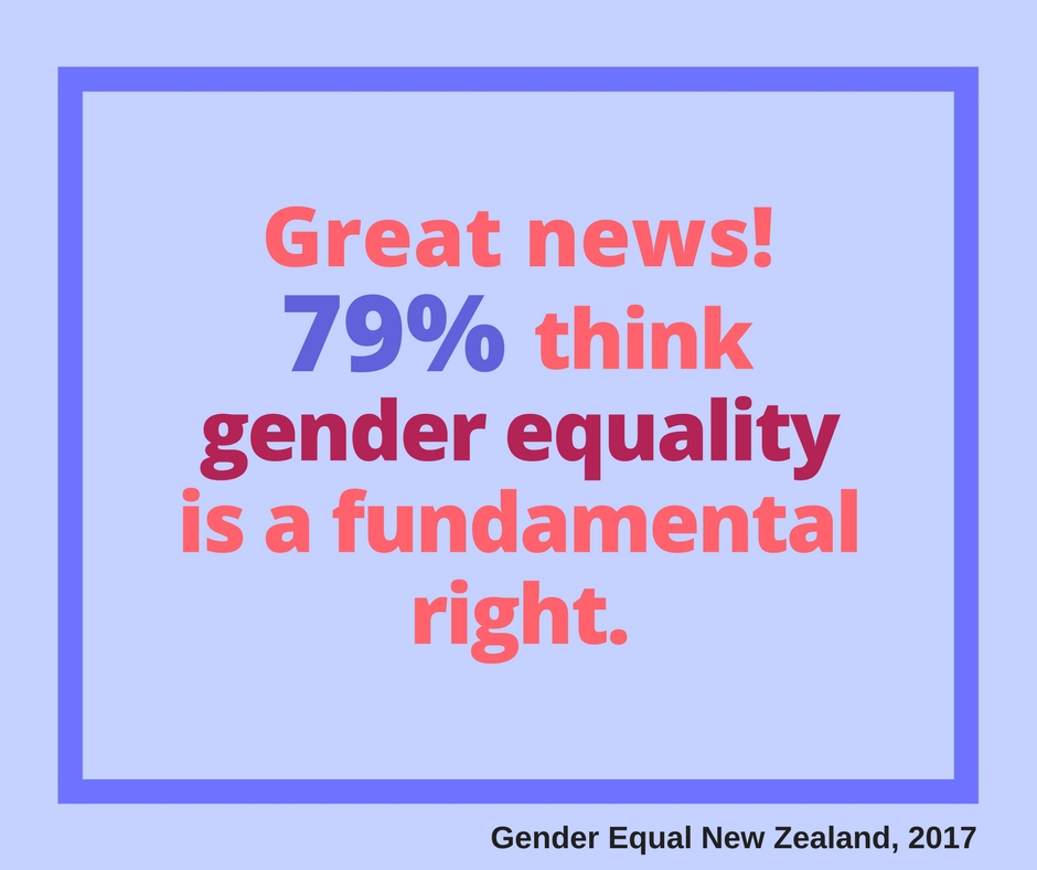 New survey explores New Zealanders attitudes toward gender