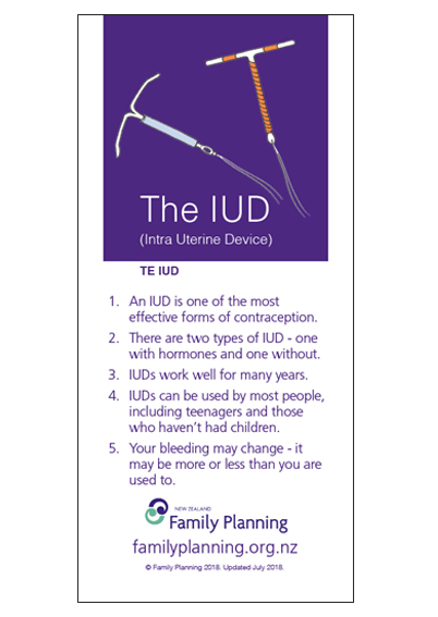 The IUD - Pamphlet