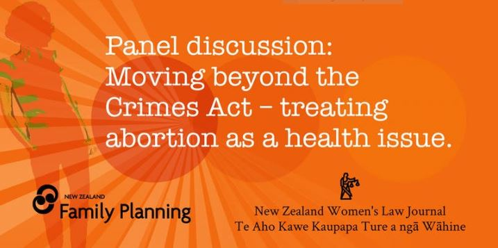 Abortion law reform panel event